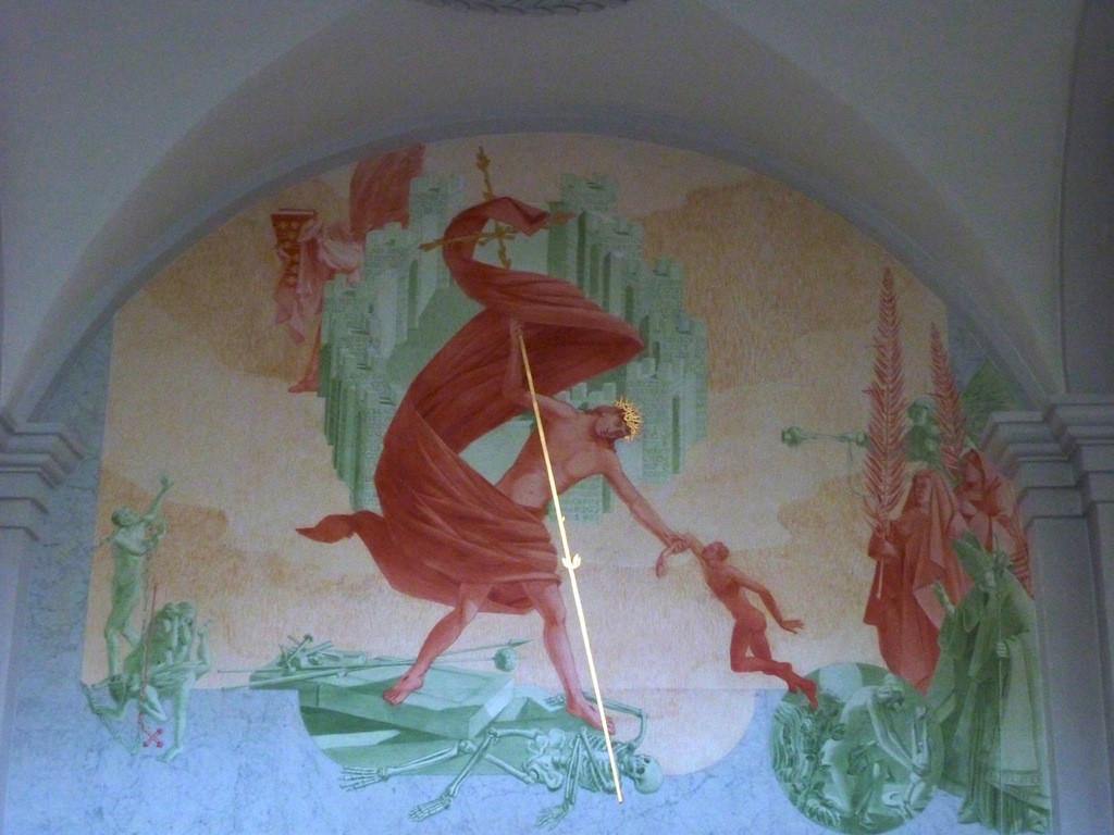 Der Auferstandene in der E.Stein´-Kapelle
