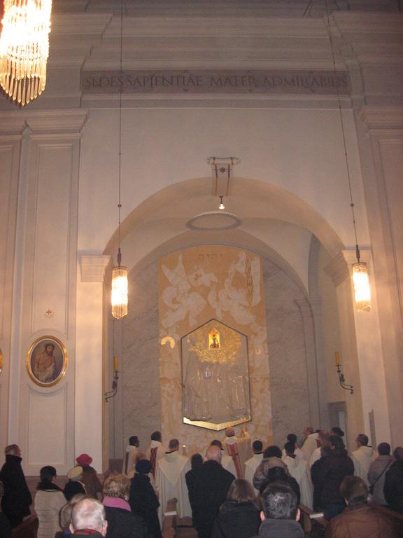 Einweihung der Prager-Jesuskind-Kapelle kl