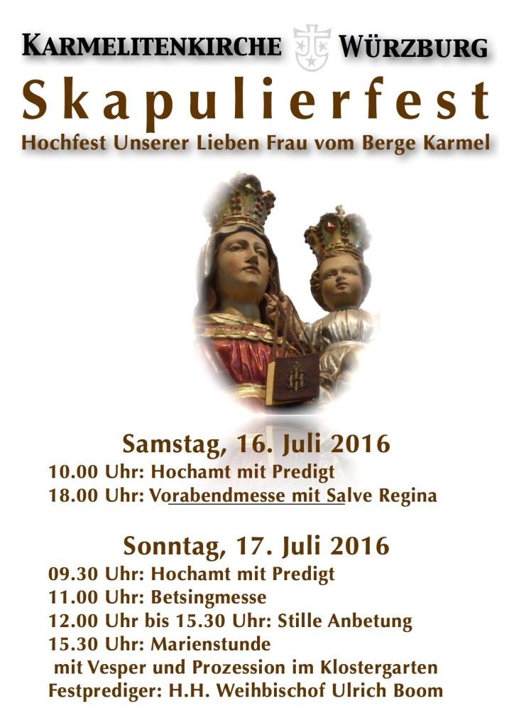 Skapulierfest 2016