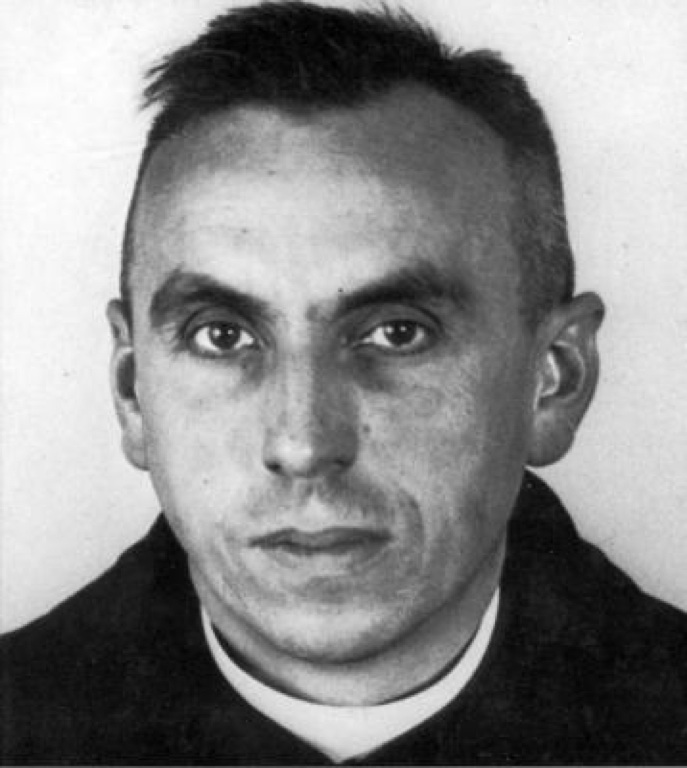 Den salige Georg Häfner, politifoto fra Gestapo Würzburg, oktober 1941